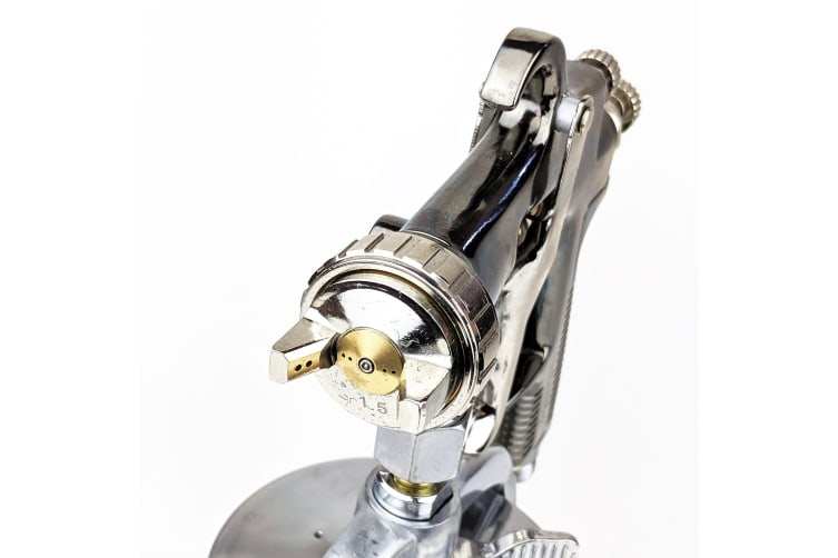 Velocity GPI High Performance Suction Feed Spray Gun 1.5mm with 1L Aluminium Cup