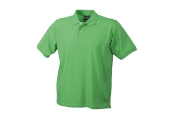 James and Nicholson Unisex Basic Polo (Lime Green) (M)