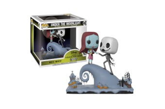 Nightmare Before Xmas Jack & Sally on Hill Moments Pop