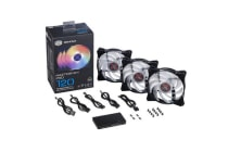 Cooler Master MasterFan Pro RGB Cooling Fan Combo 3  x 120mm Air Balance Cooling Fan