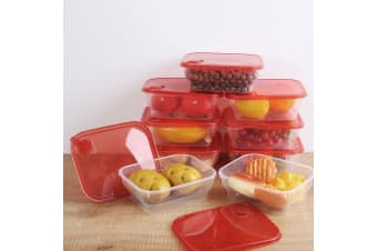 Sherwood 10 Piece All Purpose Food Container - 1000ml
