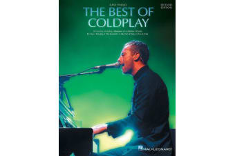 The Best Of Coldplay - Second Edition (Easy Piano)