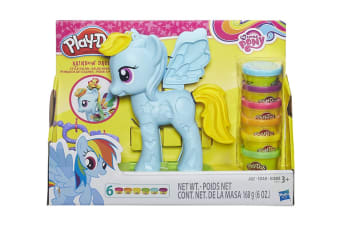 Play-Doh My Little Pony Rainbow Dash Style Salon