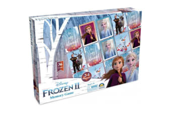 Disney Frozen II Memory Game
