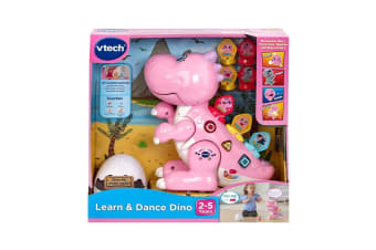 VTech Learn and Dance Dino in Pink