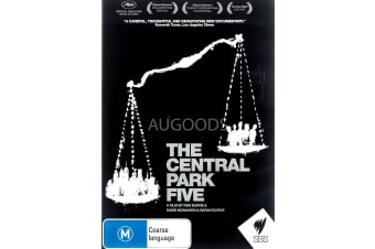 The Central Park Five - Region All Rare- Aus Stock DVD NEW