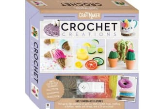 Craftmaket Crochet Kit (Deluxe Box)