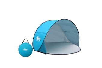 Pop-Up Curved Camp Tent