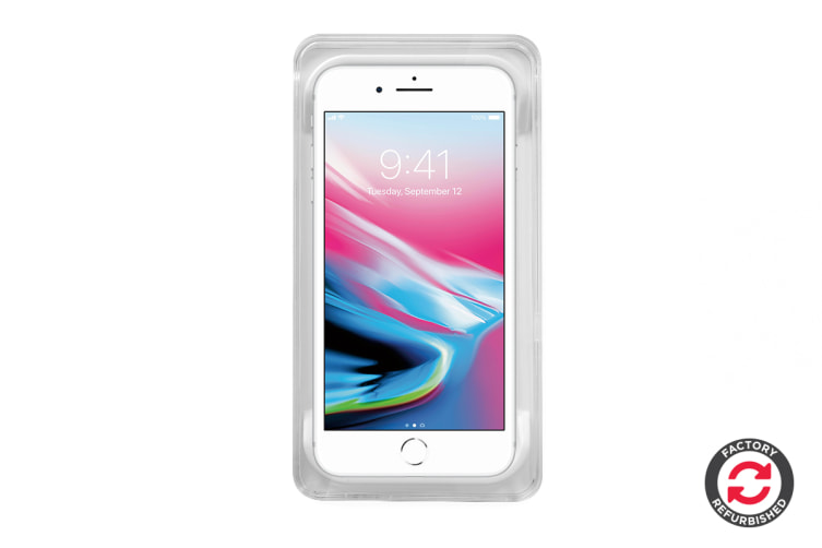 Apple iPhone 8 Refurbished (256GB, Silver) - A Grade