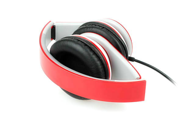 Kogan Pro Urban DJ Studio Headphones (Red)