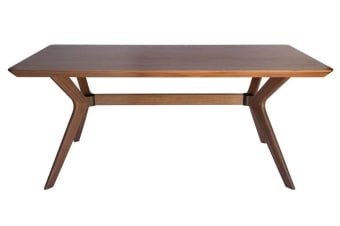 Doreen Collection | Wood Dining Table | Walnut | 180cm