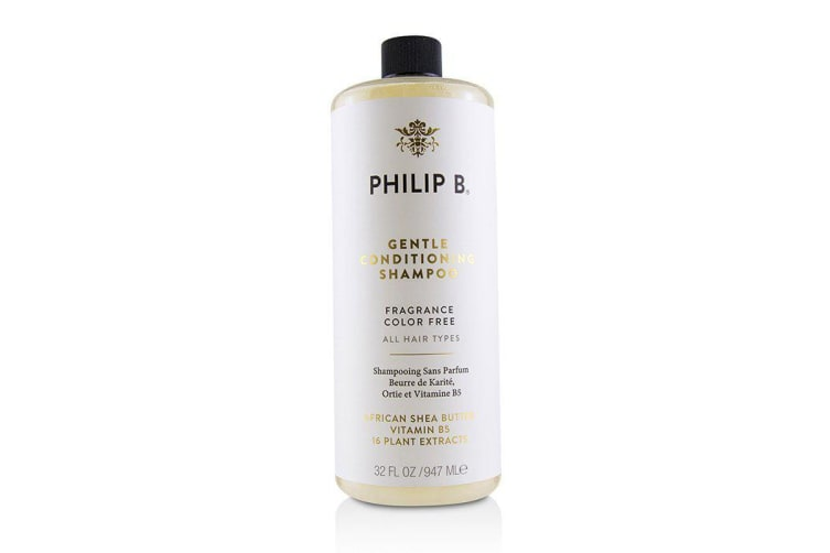 Philip B Gentle Conditioning Shampoo (Fragrance Color Free - All Hair Types) 947ml