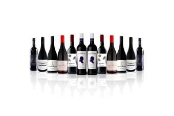 Premium Mixed Red Dozen feat. Peter Lehmann Shiraz Cabernet (12 Bottles)