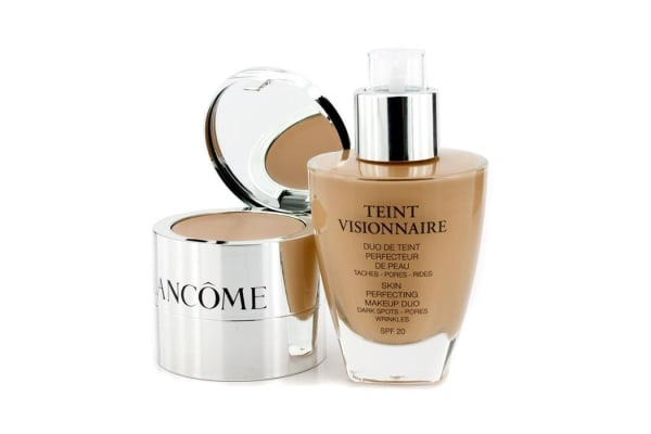 Lancome Teint Visionnaire Skin Perfecting Make Up Duo SPF 20 - # 035 Beige Dore (2pcs)