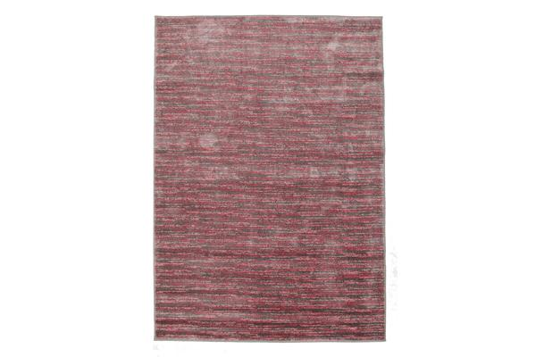 Pandora Contemporary Stripe Rug Pink Grey 230x160cm