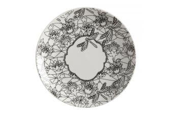 Maxwell & Williams 19cm Mindfulness Messages DIY Paint Porcelain Plate Dragonfly