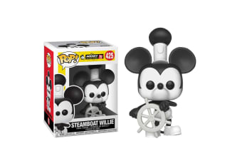 Mickey Mouse 90th Steamboat Willie Pop! Vinyl