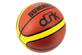 Summit Size 5 Classic Dunk Basketball Indoor/Outdoor Sport/Game Rubber Ball BRW