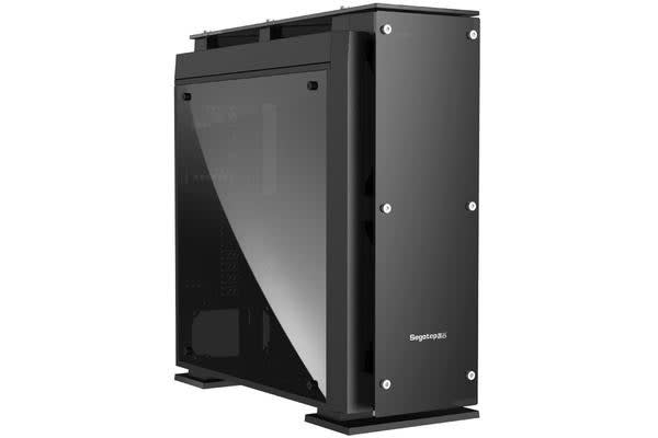 Segotep Raynor Tower T5 Glass Full Tower Case with 7 x 12CM RGB Fan Front (No PSU) Black Front USB