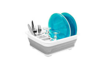 Madesmart Collapsible Dish Rack 37x32cm