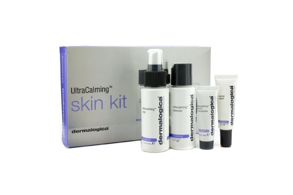 Dermalogica UltraCalming Skin Kit: Cleanser + Mist + Barrier Repair + Serum Concentrate (4pcs)
