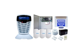 WatchGuard Complete 8 Zone Alarm System Expandable to 64 Monitored Zones