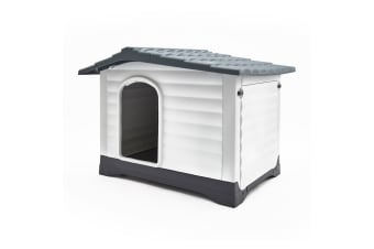 Plastic Dog Kennel MOLLY XXL - BLUE 111 x 84 x 80.5cm