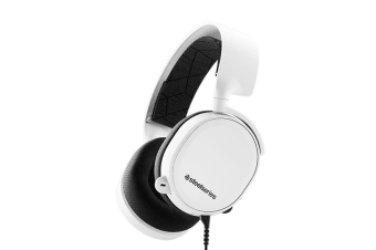 SteelSeries Arctis 3 Gaming Headset (White, 2019 Edition)
