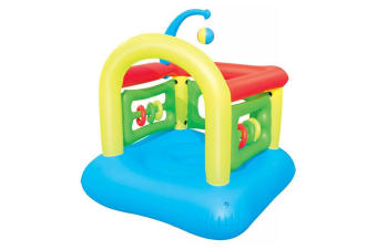 Bestway Kiddie Interactive Play Center/Beach Jumping Castle w/ Inflatable Walls