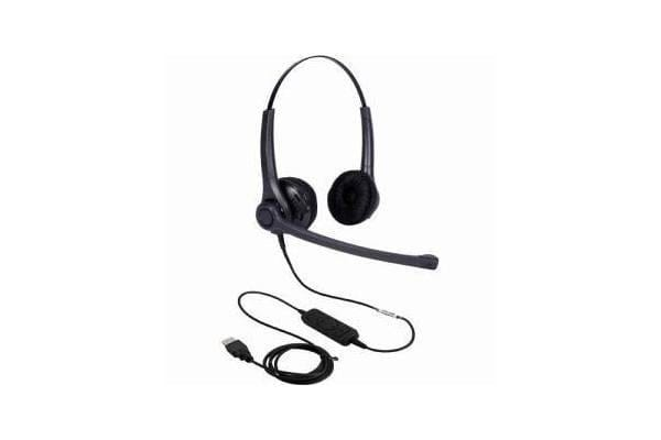 ADDCOM Entry Level Lync compatible Duo headset. Comfortable gets the job done and doesn#t break the bank. **Only available as a Duo.