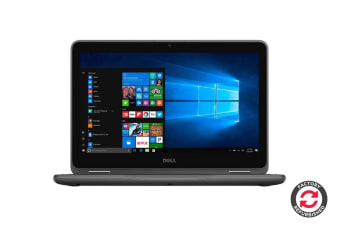 "Dell Inspiron 11 3185 11.6"" Convertible 2-in-1 Touch Screen Chromebook (A6-9220E, 4GB RAM, 32GB, Gray) - Certified Refurbished"