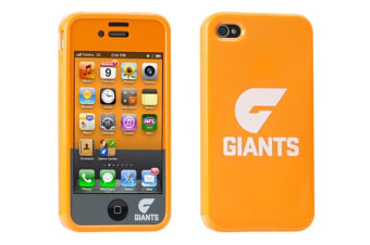Gecko AFL Licensed iPhone 4/4S Case - Greater Western Sydney