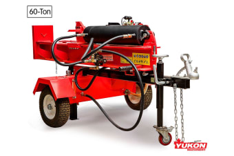 Yukon Diesel Log Splitter Wood Cutter 60Ton