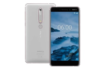 Nokia 6.1 2018 (White/Iron)