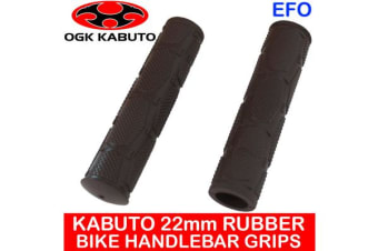 Kabuto 22Mm Rubber Handlebar Grips Mountain Bike Large Tan Brown Pair Ag-051K