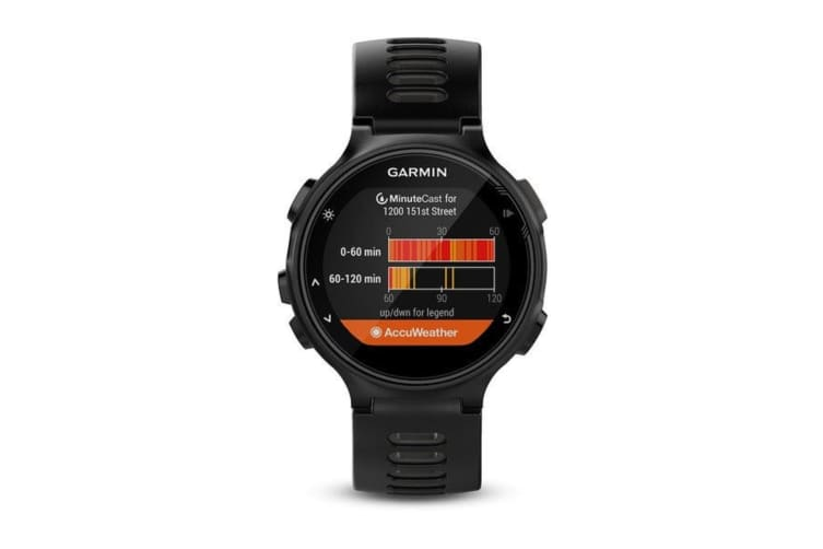 Garmin Forerunner 735XT GPS Running Watch - Black (010-01614-06)