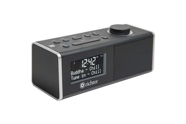 Richter Digital Dab+ Alarm Clock Radio