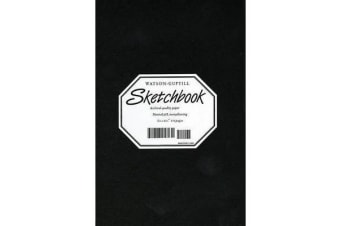 Medium Sketchbook (Kivar, Black)