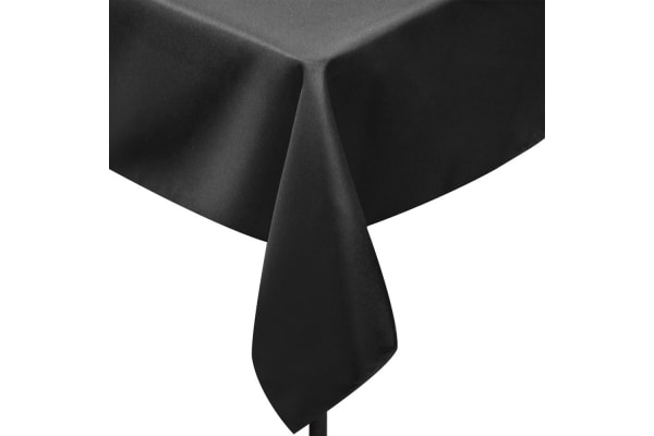 Set of 6 Table Cloths (Black) 152 x 259