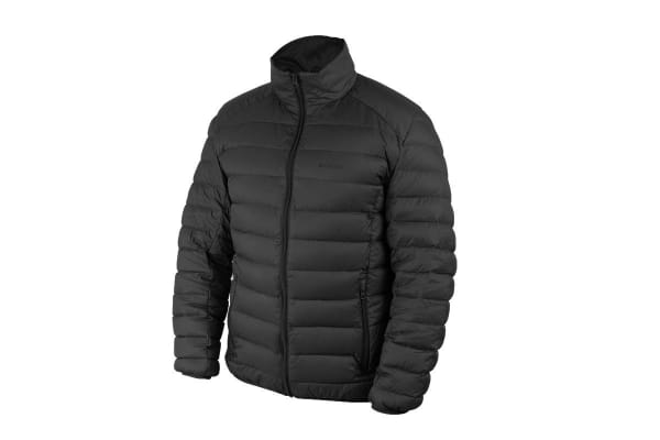 Komodo PackLite Men's Down Jacket (Black, Medium)