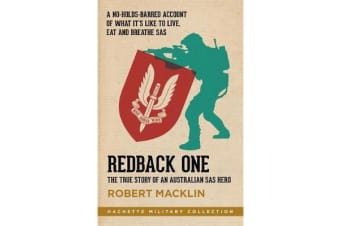 Redback One - The True Story of an Australian SAS Hero