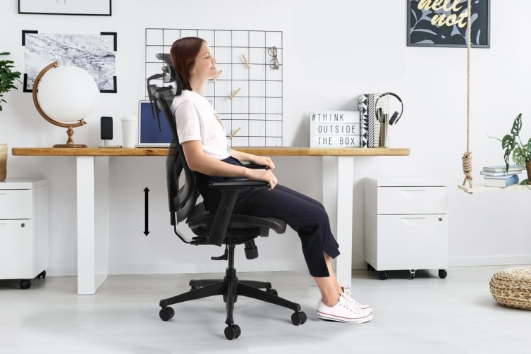 Ergolux EZ8H Ergonomic Mesh Office Chair
