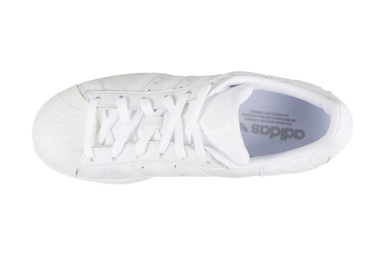 Adidas Originals Unisex Superstar Shoe (White/Crystal White, Size 10.5)