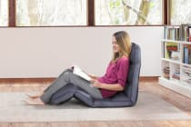 Ovela Adjustable Lounge Chair (Ash Grey)