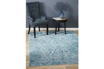 Landon Blue Vintage Look Rug