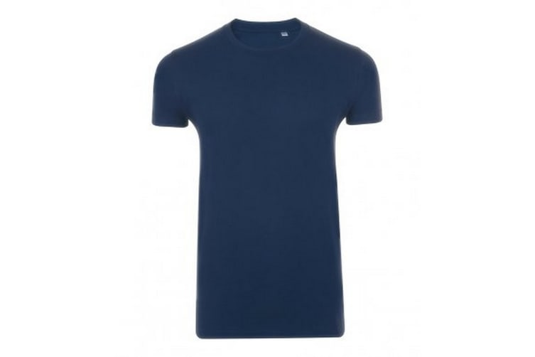 SOLS Mens Imperial Slim Fit Short Sleeve T-Shirt (French Navy) (S)