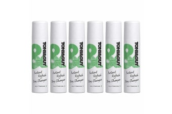 6x Toni & Guy 250ml Instant Refresh Dry Shampoo Fresh Hair Care/Styling/Clean