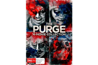 The Purge : 4-Movie Collection