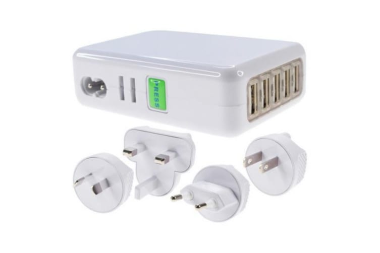 USB Charger - International Plugs
