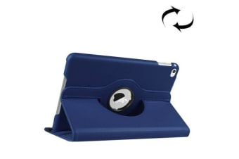 For iPad Mini 4 Case  Leather High-Quality Shielding Cover Dark Blue
